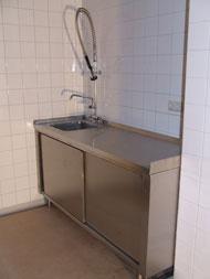 Rvs keukenblok